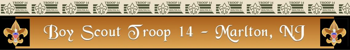 Marlton Troop14 banner